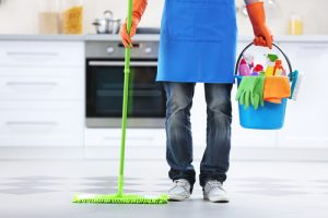 How can I clean my house professionally fast