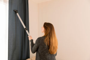 How often should you clean curtains